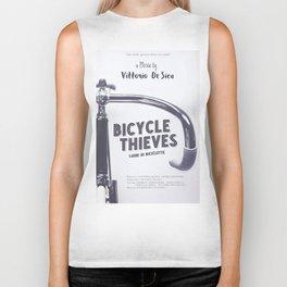 Bicycle Thieves - Movie Poster for De Sica's masterpiece. Neorealism film, fine art print. Biker Tank
