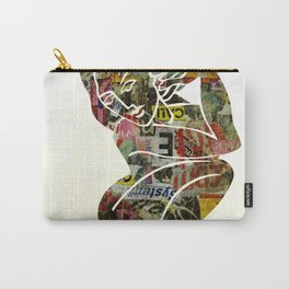 Graffiti Girl Modern Abstract Fine Art Nude Painting Pop ART Carry-All Pouch