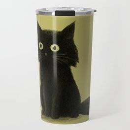 Sitting Cat Travel Mug