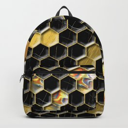 Hexagon Sparkle LJXHJ Backpack