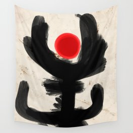 San Remo Abstract Art Zen Minimalism Wall Tapestry