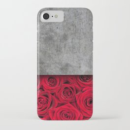 Concrete Flowers iPhone Case