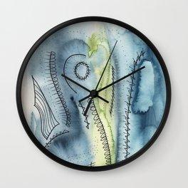 curve talk Wall Clock