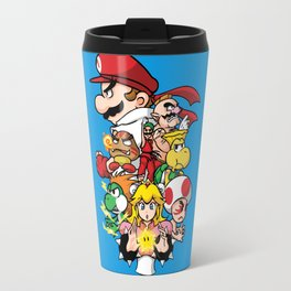 Mushroom Kingdom Fighters Travel Mug