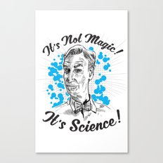 It's Science! Canvas Print