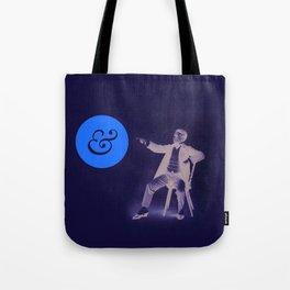 A Stern Ampersand Tote Bag
