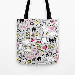 Computers and Social Media Tote Bag