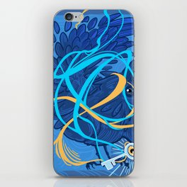 A Raven Thought iPhone Skin