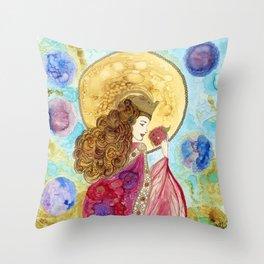 Santa Isabel Throw Pillow