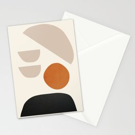 abstract minimal 62 Stationery Cards