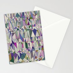 Architecture in Pink Stationery Cards