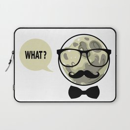 Moon - What? Laptop Sleeve
