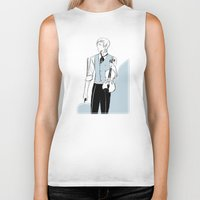 violin Biker Tanks featuring Violin by Cassandra Jean