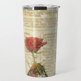 Rosaceae Travel Mug