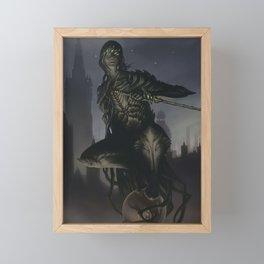 Black Thorn Framed Mini Art Print