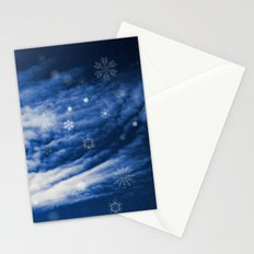 Snowy heaven Stationery Cards