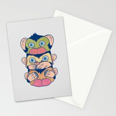 Hear no evil, Speak no evil, See no evil Stationery Cards