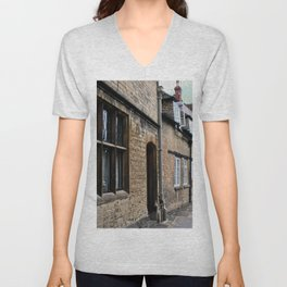 Downtown Cotswolds - Study III Unisex V-Neck