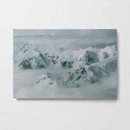 Tordrillo Mountains Metal Print