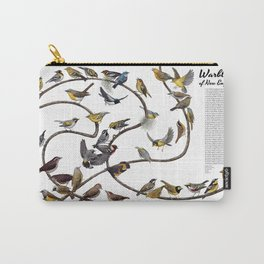 Warblers of New England Carry-All Pouch