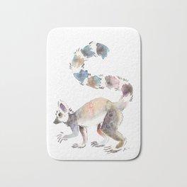 Splotchy Lemur Bath Mat