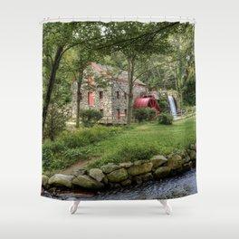Wayside Inn Grist Mill Shower Curtain