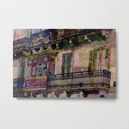 valletta balconies Metal Print
