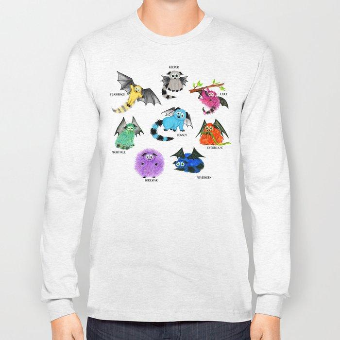 Eight Little Iggys Long Sleeve T-shirt