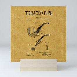 Tobacco Pipe Patent 1 Mini Art Print