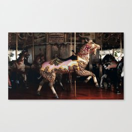 Outside Row Goat Canvas Print