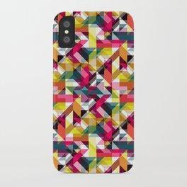 Aztec Geometric VII iPhone Case