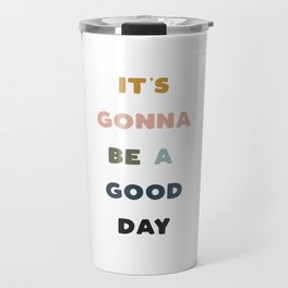 Have A Good Day - Retro Rainbow Travel Mug