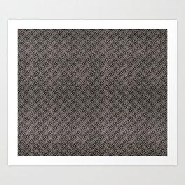 Rusty texture Art Print