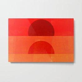 Abstraction_Sunrise Metal Print
