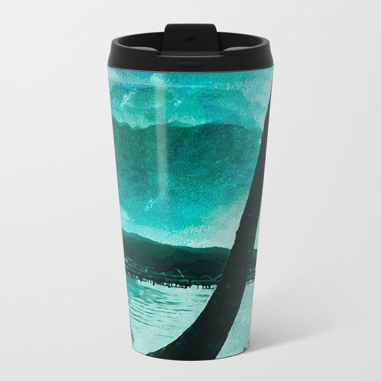 Tempest Island (Colder Version) Metal Travel Mug