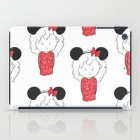minnie iPad Cases featuring Minnie 5 by Little Moon Dance