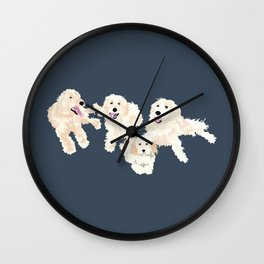 Kylie, tate, connor, and callie Wall Clock