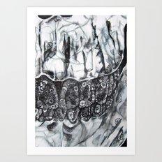 Phantom Flowers  Art Print
