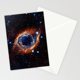 Helix Nebula (Infrared) Stationery Cards