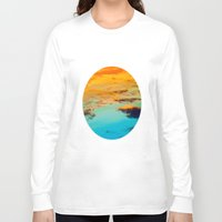 swim Long Sleeve T-shirts featuring Swim by Rick Staggs