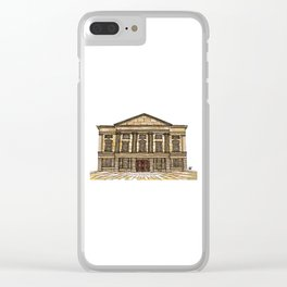 Shrewsbury Museum and Art Gallery, Sepia Clear iPhone Case