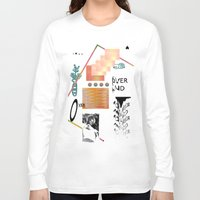 tits Long Sleeve T-shirts featuring I love tits (overandover) by Marta Veludo