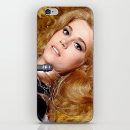 Beautiful Barbarella iPhone Skin