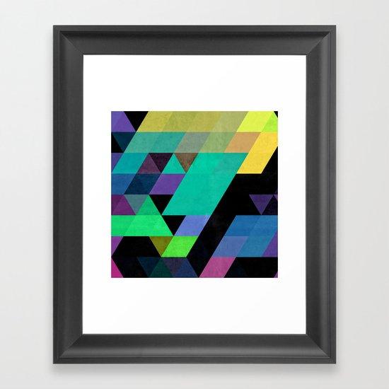 Qy^dyne Framed Art Print