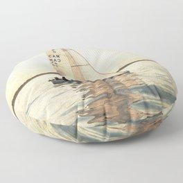 Sailing Floor Pillow