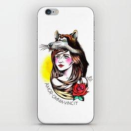 Chica Lobo iPhone Skin