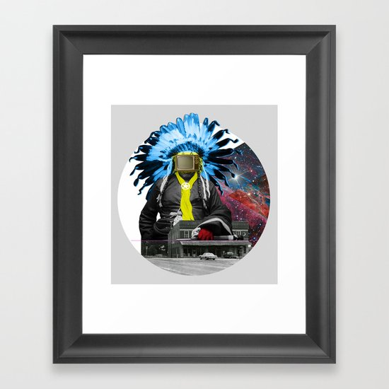Indian Pop 94 Framed Art Print