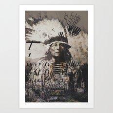 Crazy Horse Art Print
