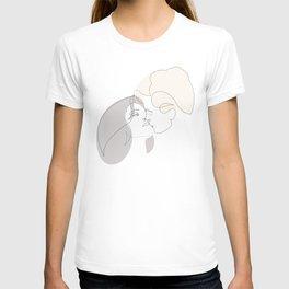 MD kiss - one line art T-shirt