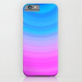 Pink & Blue Circles iPhone Case